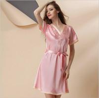 Clothes Woman Europe Style Straps Fantasy Bra Nightdress Sweet Natural High-End Slik Sleepwear Star Magicdream Brand YP1203195