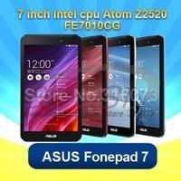 100% Original Fonepad7 Pad Intel Atom Z2520 Dual Core 1.2GHz 7 inch 1GB RAM 8GB ROM Dual Cameras 3950MAH 3G WCDMA