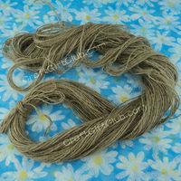 100 Yard Natural Hemp Cord rope string multipurpose Photo Hanging Home Decor DIY 1mm