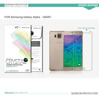 NILLKIN Super Clear Anti-fingerpr   for  Samsung Galaxy Alpha G850F