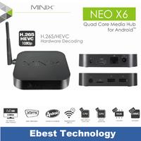 Original MINIX NEO X6 Amlogic S805 Android Smart TV Box Quad Core 1.5GHz  XBMC Media Player 1GB/8GB Wifi Bluetooth 4.0 Presale