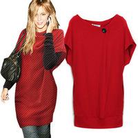 2014 new fashion summer dress women's brand hot plus size pencil  solid color dress M L XL