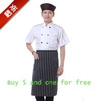 New Half Waist Apron With Front Pocket For Chefs Waiter Kitchen Cooking Bib Craft
