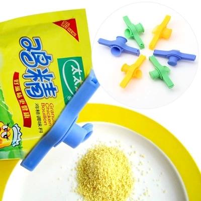 Seasoning Food packaging bags Sealing Plastic Bag Clip Set ktichen tool bag sealing clip cooking(China (Mainland))