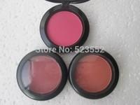24PCS/LOTS Brand MC Makeup Sheertone shimmer Powder Blush 6G 24 different colors available free shipping