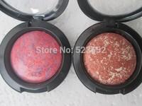 2PCS/LOT free shipping 12color blusher  Makeup mineralize blush 3.5g