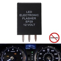 50PCS/LOT EP-29 LED Flasher Relay Flash Turn Signal Decoder Load Equalizers
