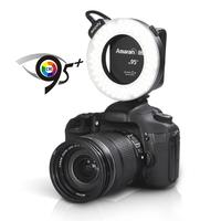 Aputure HC100 CRI 95+ Marco Led Ring Flash for dslr camera Free Shipping HC100 LED Ring Flash Light for Canon 5D Mark III