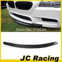 12-13 High quality Carbon Fiber  Front bumper lip. Auto car font bumper diffuser For BMW (Fit F10 M5 Original Bumper 12-13)