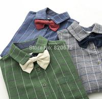 The new autumn ladies coat ladies plaid cotton shirt Slim Korean foreign trade wholesale women's long-sleeved shirt