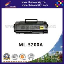 (CS-S5200) compatible toner cartridge for SAMSUNG ML-5200A ML 5200A ML5200A ML-5200D6 ML5200D6 ML 5200D6 ml5200 BK 6K free FedEx