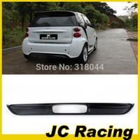 10-11 100% Brand New Carbon Fiber style rear bumper lip.Auto car bumper diffuser For Mercedes-Benz Smart (Fit For Smart 10-11)