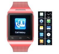"Quad Band GSM Original S18 Smart Watch Phone 1.54"" Touch Screen Bluetooth SmartWatch Mobile Phone FM Radio Russian Greek Czech"