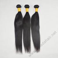 2014 New Arrival Indian Straight Virgin Hair 6A Grade 3 Pcs Lot 8-30 inch Straight Virgin Hair Indian Virgin Hair Weave