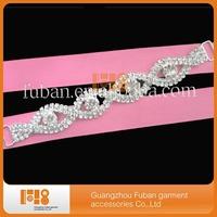 Top Quality Crystal buckles Rhinestone bikini connectors wholesale Alibaba Free Shipping