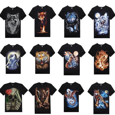 15 Stytle T Shirt Hot Selling 2014 New 3d Printed T Shirt Men M-XXXL 100% Cotton Causul Brand T-Shirt E99 Free Shipping(China (Mainland))