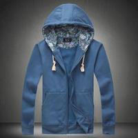 man hoody casual men's hoodie sweatshirt brand sports suit jacket coat outwear plus size sportswear