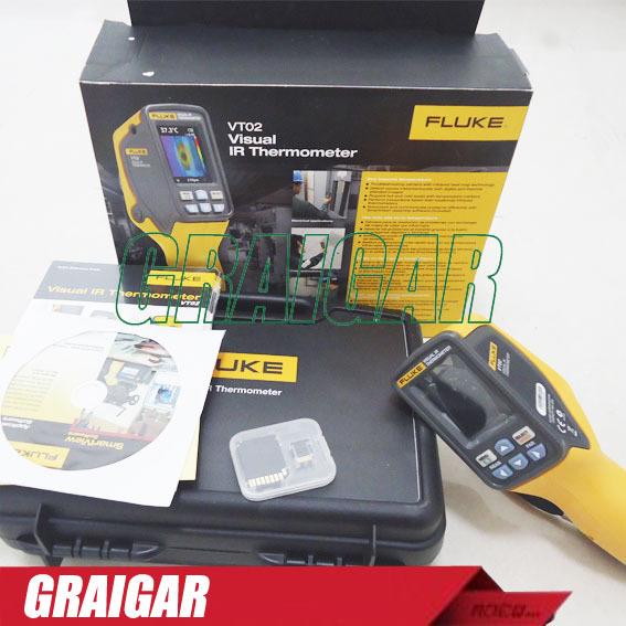 NEW FLUKE VT02 Visual Infrared IR Thermometer Fluke Infrared Thermal imaging camera(China (Mainland))