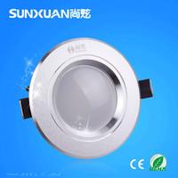 5W LED downlights 2014 new 5730SMD AC110V / 220V warm white cold white free shipping
