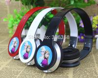 2015 new Retail Frozen Headset/Princess Anna Elsa headphone/kids Cartoon Olaf headband Earphone,3.5mm