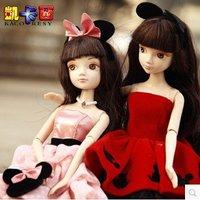 Free Sgipping Cute Cartoon Barb Doll/Girl Birthday Gift Toy 6092