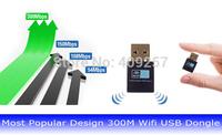 100% 300M 300Mbps Mini Wireless USB Wifi  Adapter LAN Internet Network Adapter 802.11n/g/b