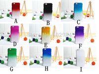 Newest Gradient RainDrop Hard PC Case For iPhone 4 4S 4G 5 5C 5 5G 5S 6 4.7'' Plus 5.5'' 6+ 3D Rain Drop Clear Plastic Cases
