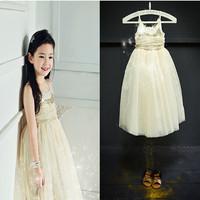 High End 2014927 summer  girl  dress brand children princess dress,designer kids dobby dress girls dresses free shipping