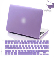 Hot purple laptop case logo protective shell for mac book/computer accessories mackbook pro retina air 11 13 15 case notebook