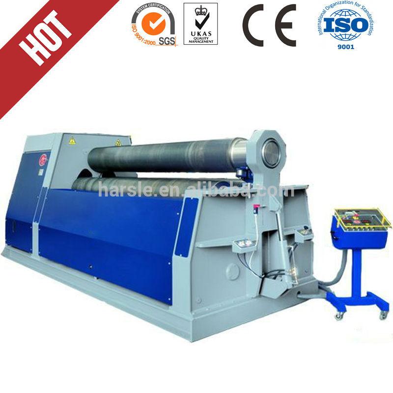 Metal plate coiling machine,w11 sheet metal rolling machine(China (Mainland))