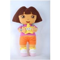 "Free Shipping 14"" Stuffed Dora/High quality Dora Plush Stuffed Toys /Adventurous Dora For Kids Best Gift"