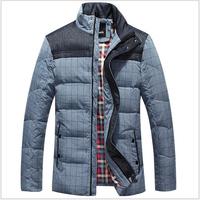 2014 Men's Clothing Down Coat Male Thickening Down Coat  Design Short Down Coat