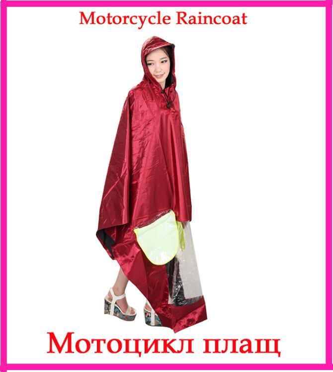 2014 Hot bicycle motorcycle poncho raincoat women outdoor waterproof poncho large thick single-person rainwear(China (Mainland))