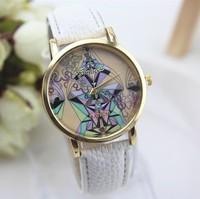 woman watches 2015 geneva watch women style quartz epidermal Dress Watch casual watch