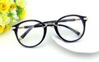 New Reading Glasses Women Oculos De Grau Femininos Fashion Metal Leg Eyeglasses Frame Plain lenses Lentes Glasses D036