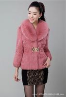 women's imitation rabbit faux fur coat fur jacket