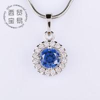 6 colors Necklace Pendants Austrian Crystal Wedding Jewelry Necklace For Women DZ005