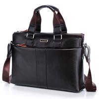 Big Discount!!! 2014 Men Shoulder Bag Casual Man Business Handbag Leather Briefcase, RJS-602C, Free Shipping