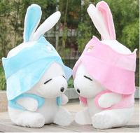Birthday Valentines Gift Lovely MashiMaro Wedding Plush Toy Rabbit High Quality Teddy Bear Doll 2 Colors Size 40cm