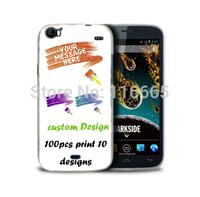 custom design logo printing plastic pc cover hard case for wiko darkside Coque Etui Housse free dhl 100pcs mix 10