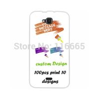 custom design logo printing plastic pc cover hard case for wiko slide Coque Etui Housse free dhl 100pcs mix 10