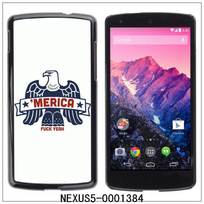 MERICA AMERICA F**K YEAH! USA EAGLE-FOR LG Google Nexus 5 E980 D820 D821 Plastic Hard Back Case Cover Shell (NEXUS5-0001384)(China (Mainland))