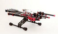 2015 new version DAYA-550 550mm PCB Alien Carbon Fiber Folding 4 Axis FPV Quadcopter Frame Kit