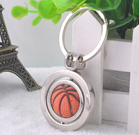 ZT020 Creative basketball design keychain fashion key chain  Free shipping