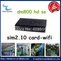 DM800HD SE satellite receiver with 2.10 sim card built-in WIFI