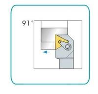 91Deg,25x25mm Shank MTGNR2525M16 CNC Lathe External Tool Holder,for TNMG1604 Insert  free shipping to all countries