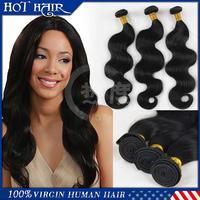 virgin peruvian body wave  3 Pcs Lot 6A Peruvian Virgin Hair Weaves Unprocessed Cheap Human Hair Extension Wavy Hair
