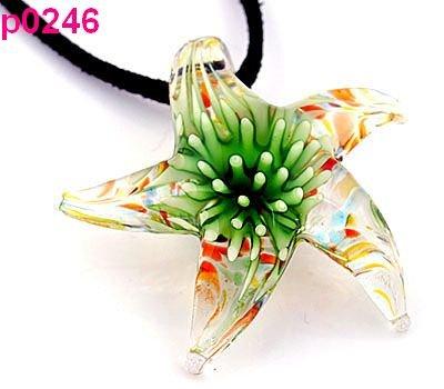 Ювелирная подвеска NONE Starfish Lampwork p0236 432344 none