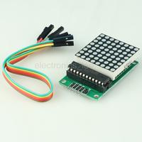 MAX7219 Dot Matrix Module MCU Control LED Display Arduino