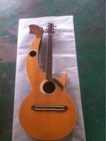 6 6 8 String Acoustic Double Neck Harp Guitar 20 string acoustic guitar